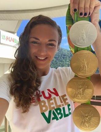 Hosszú Katinka a 2017-ben megalapított Nemzetközi Úszó Liga egyik ... be07042413